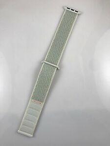 Original Genuine Apple watch band Nike Sport loop 38mm 40mm strap Spruce Aura