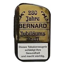 280 Jahre 10g Jubiläums Snuff Schnupftabak von Bernard