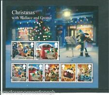 GB MNH STAMP SHEET 2010 CHRISTMAS WALLACE & GROMIT SG MS3135 10% OFF ANY 5+
