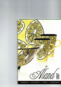 Aland-- Jahresbriefmarkenheft 2007  postfrisch