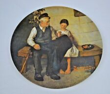 Norman Rockwell The Lighthouse Keepers Daughter Collector Knowles Limited Plate
