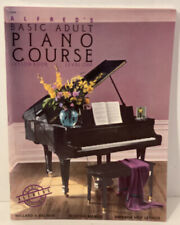 Alfred Basic Adult Piano Course book