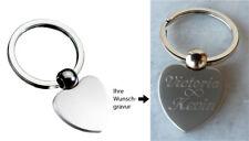 Herz Schlüsselanhänger graviert ❤ Gravur Geschenk ❤ Valentinstag ❤ Muttertag