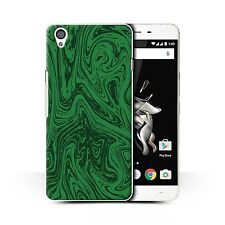 STUFF4 Back Case/Cover/Skin for OnePlus X/Melted Liquid Metal Effect