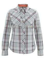 Simms Women's BIG SKY Long Sleeve Shirt ~ Moonstone Plaid NEW ~ Large ~ CLOSEOUT