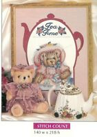 TEA TIME    - CROSS STITCH  PATTERN ONLY  HM - SUS