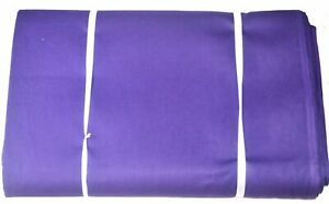 1 Yard Indian Cotton Light Weight Running Loose Dressmaking Solid Plain Fabric