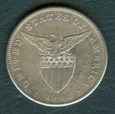 1 Peso 1904S US-Philippine Coin Silver Unites Staes of America coin