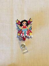 Wonder Woman SD #2 Retractable Reel ID Badge Holder