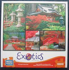 jigsaw puzzle 1000 pcs Exotics Japanese Gardens MEGA Brands