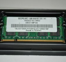 Hynix PC2-5300 DDR2 1GB 667MHz RAM Laptop Memory Board 04G00161765D SODIMM