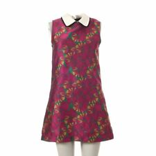 SISTER JANE Dress Pink Green Floral Size Small DP 130