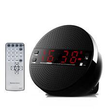 Alarm Clock FM Radio Wireless Bluetooth Subwoofer Speaker with Remote Controller