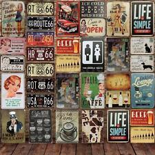 Retro Metal Signs Poster Plaque Bar Pub Club Cafe Home Decor 20x30cm Restaurant