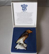 Porzellan Buchfink von Wagner & Apel in OVP