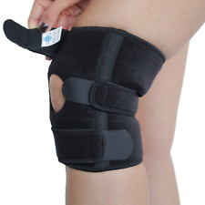 Kniebandage mit Klettverschlüssen Orthese Knieschoner Stabilisierung Stütze