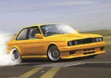 BMW E30 YELLOW SPORTS RALLY CAR POSTER ART PRINT A3 SIZE GZ2158
