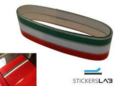 Adesivo fascia striscia TRICOLORE cm 200 x 2,5 cm ITALIA bandiera italiana