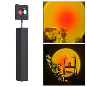 LED Sunset Rainbow Projector Atmosphere Night Light Lamp Wall Decoration