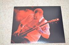 Billy Gould signed autographe 20x25 CM en personne Faith No More