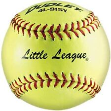 Dudley Sy-12 4L-915Y Little League Softball (One Dozen)