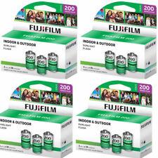 12 Rolls Fujifilm Fujicolor 200 36 Exp 35mm (3 Pack) Color Film