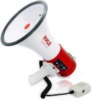 Pyle 50-Watt Siren Bullhorn Speaker with Detachable Microphone PMP57LIA