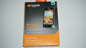 LG Optimus F3 LG-LS720 4GB Android smartphone for Boost Mobile Sealed Box NEW