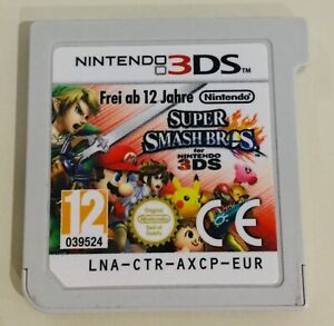 nintendo 3DS super smash bros cartridge only tested good condition UK PAL