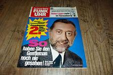 Funk Uhr Nr. 27 1972  Horst Tappert/Hanni Vanhaiden /Gitte,Dunja Rajter