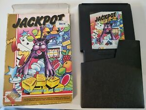 "JACKPOT By H.E.S. - Type2  ""Super RARE"" - Boxed NES Game.."