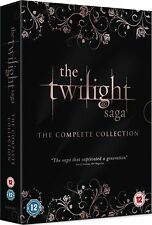 TWILIGHT Complete Movie Collection DVD 1-5 BoxSet Eclipse New Moon Breaking Moon