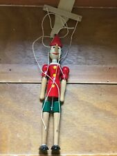 1999 Firenze Italy Signed Painted Carved Wood Wooden Pinocchio Marionette – 10.2