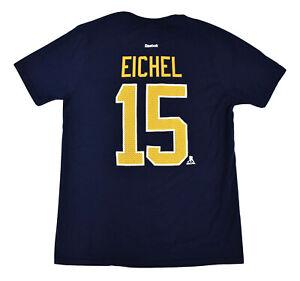 Reebok NHL Youth Buffalo Sabres Jack Eichel Shirt New L