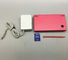 Nintendo DSi TWL-001 Pink Handheld Console w/ Stylus, 1GB SD Card + Charger *F08