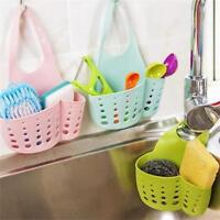 Kitchen Sink Sponge Holder Bathroom Hanging Strainer Organizer Storage Rack New