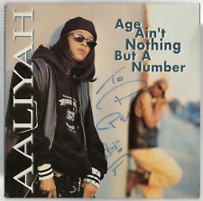 Aaliyah signed autographed 1994 record album! Rare! Epperson! Jsa Loa!