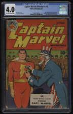 Captain Marvel Adventures #28 CGC 4.0 OW/W Pages Fawcett 1943 Shazaam