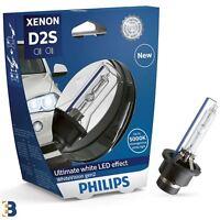 PHILIPS D2S White Vision GEN2 Xenon Headlight Bulb HID 5000K 85415WHV2C1 1 Piece