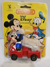MATCHBOX 1979 WALT DISNEY Character Car WD-1-A3 MICKEY MOUSE Fire Bister Pack