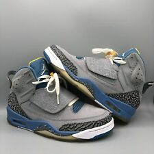 Nike Air Jordan Son Of Mars Stealth Grey Blue Size 8.5 512245 037 Spizike VI IV