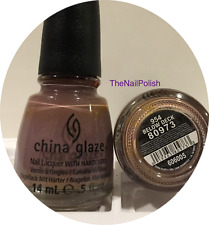 China Glaze Nail Polish - Below Deck - 0.5oz - 954 #80973 Mauve Grey Lavender