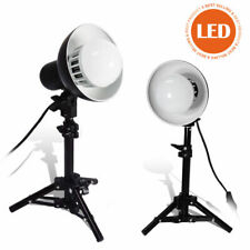 2 PCs LED Table Top Light Bulb For Soft Box Cube Tent Photography Lighting Kit