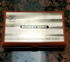 ✔️ EXCELLENT✔️ NINTENDO GAME & WATCH DONKEY KONG MULTI SCREEN 1982 VINTAGE RARE