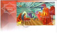 2015 FDC. Australia. Christmas. M.S. Various FDI postmarks