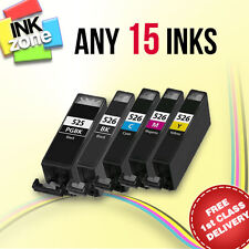 Any 15 non-OEM Ink for CANON PIXMA MX715 MX885 MX895 iP4850 iP4950 MG5150 MG5250