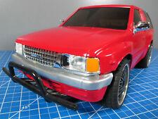 Tamiya R/C 1/10 ISUZU MU Type X MU 4WD CC-01 Chassis TEU-101BK ESC Servo # 58166