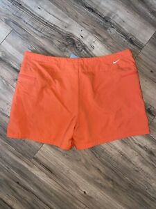 Nike Womens Hiking Athletic Shorts Full Zip Side Pockets Coral Size L