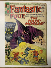 Fantastic Four #21/Silver Age Marvel Comic Book/1st Sgt Fury X-Over/VG-FN