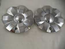 Hoyo Wheels Chrome Custom Wheel Center Cap Caps # CSH8S-1P (2 CAPS) USED